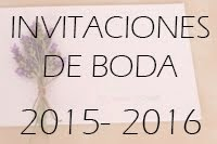 Invitaciones de Boda 2015-2016