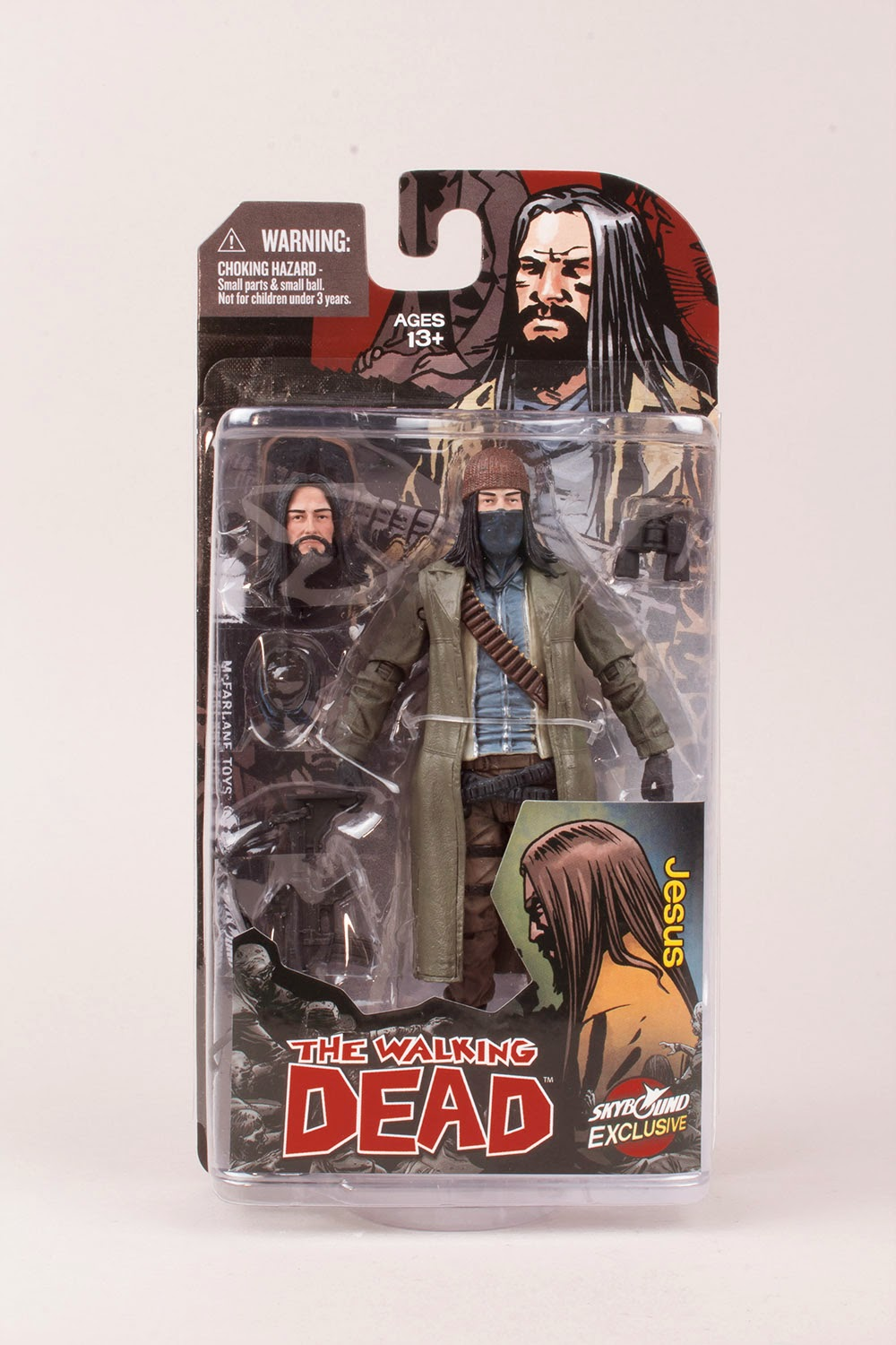 New York Comic Con 2014 Exclusive The Walking Dead Jesus Action Figure by McFarlane Toys
