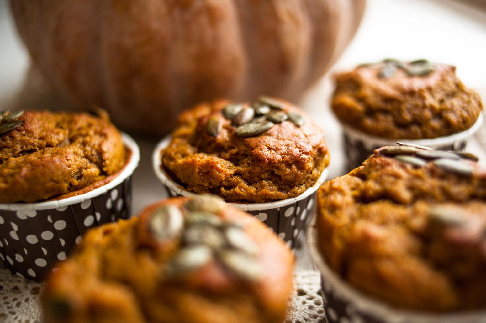 Тыквенные кексы рецепт пошагово