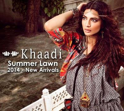Khaadi Summer Collection 2014 Catalogue Khaadi Summer Lawn 2014 New