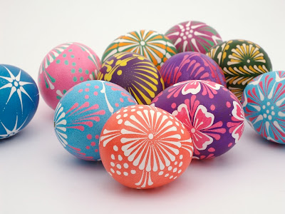 Easter Eggs 3D Wallpaper