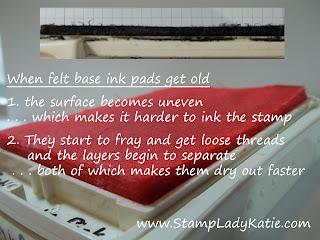 Old Felt Ink Pad