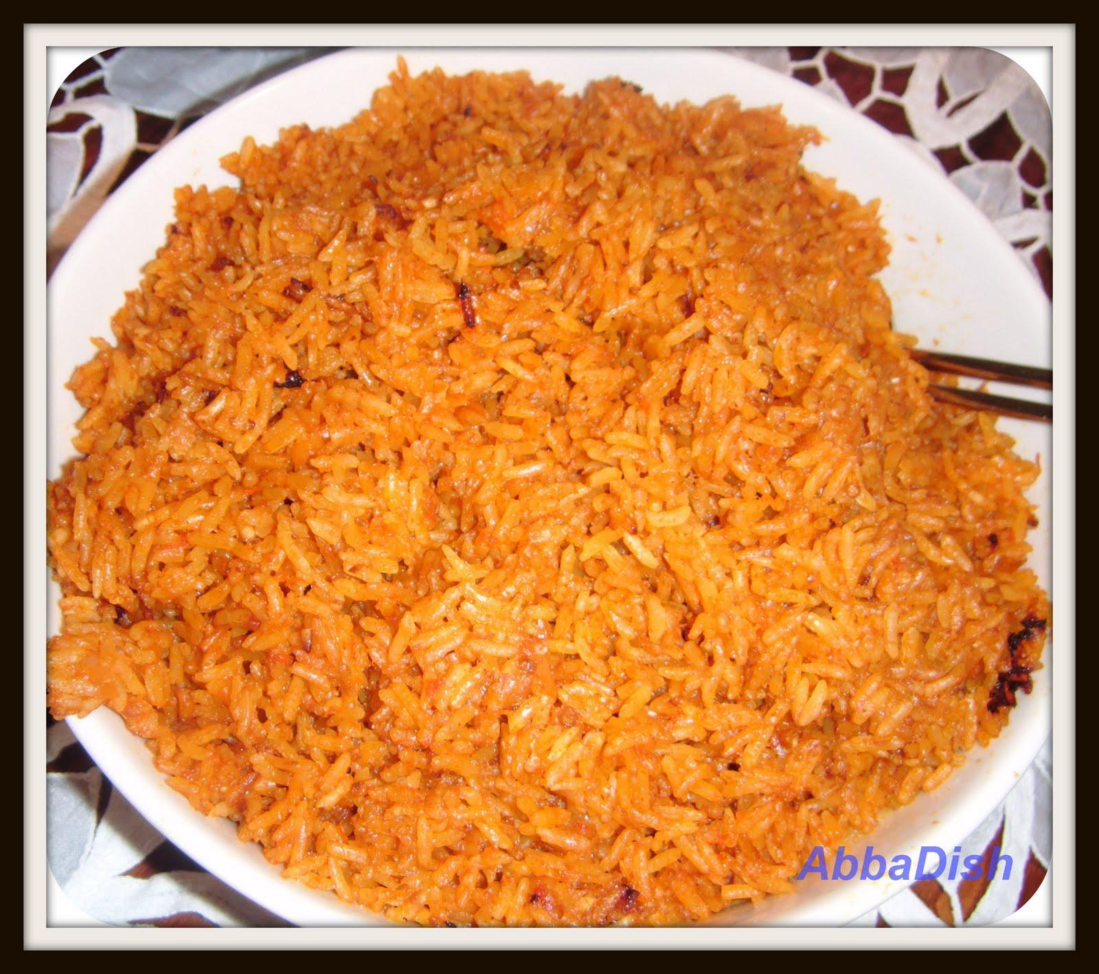 Abbadish Jollof Rice