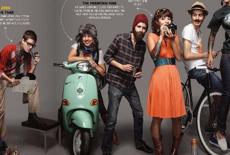 hipsters vintage rétro intello fashion 2011 mode