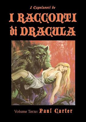 """I Capolavori de """"I Racconti di Dracula"""" vol. 3, 2012, copertina"""