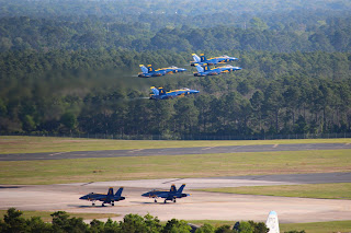 Navy Blue Angels at National Museum of Naval Aviation