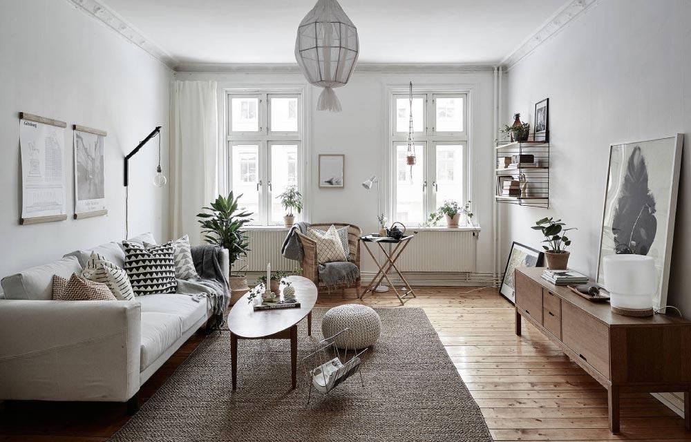 Ampio e luminoso appartamento ristrutturato con stile for Interni appartamenti