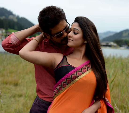 nayanatara saree pics in greekuveerudu movie8