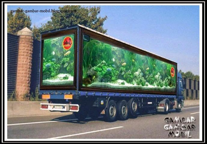 gambar mobil truk variasi