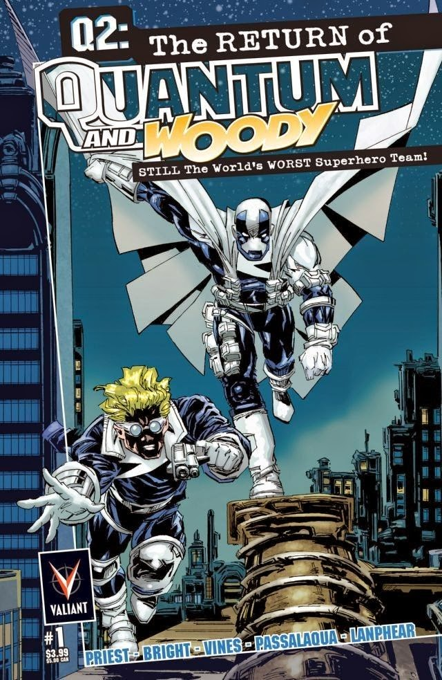 Q2: The Return of Quantum and Woody #1