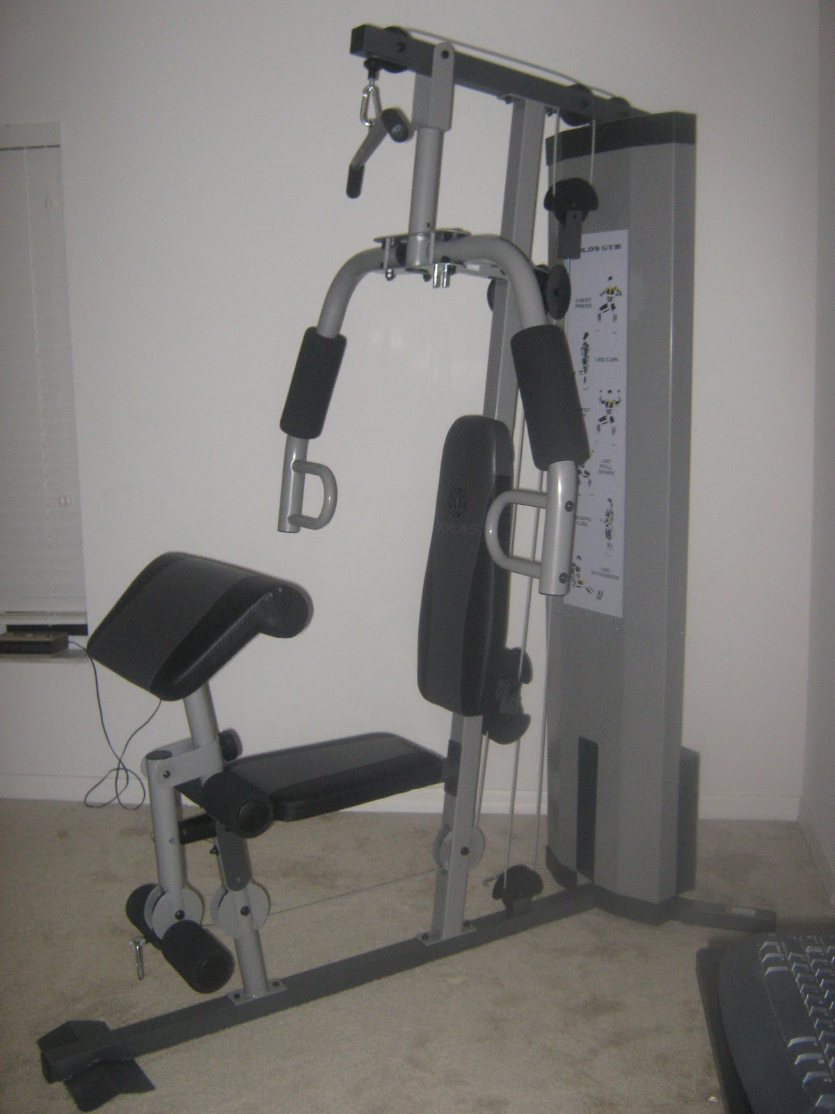 Gold's Gym XR45 Exercises http://www.fitmid-life.com/2011/05/normal-0-so-far-so.html