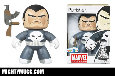 Punisher Marvel Mighty Muggs Exclusives - Mightymugg.com