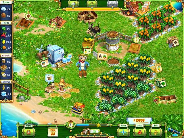 لعبة المزرعة Exotic Farm