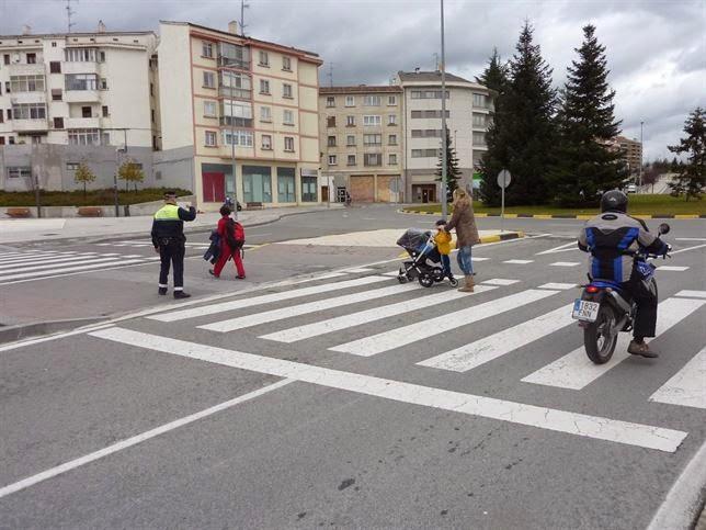 Límites de velocidad para peatones