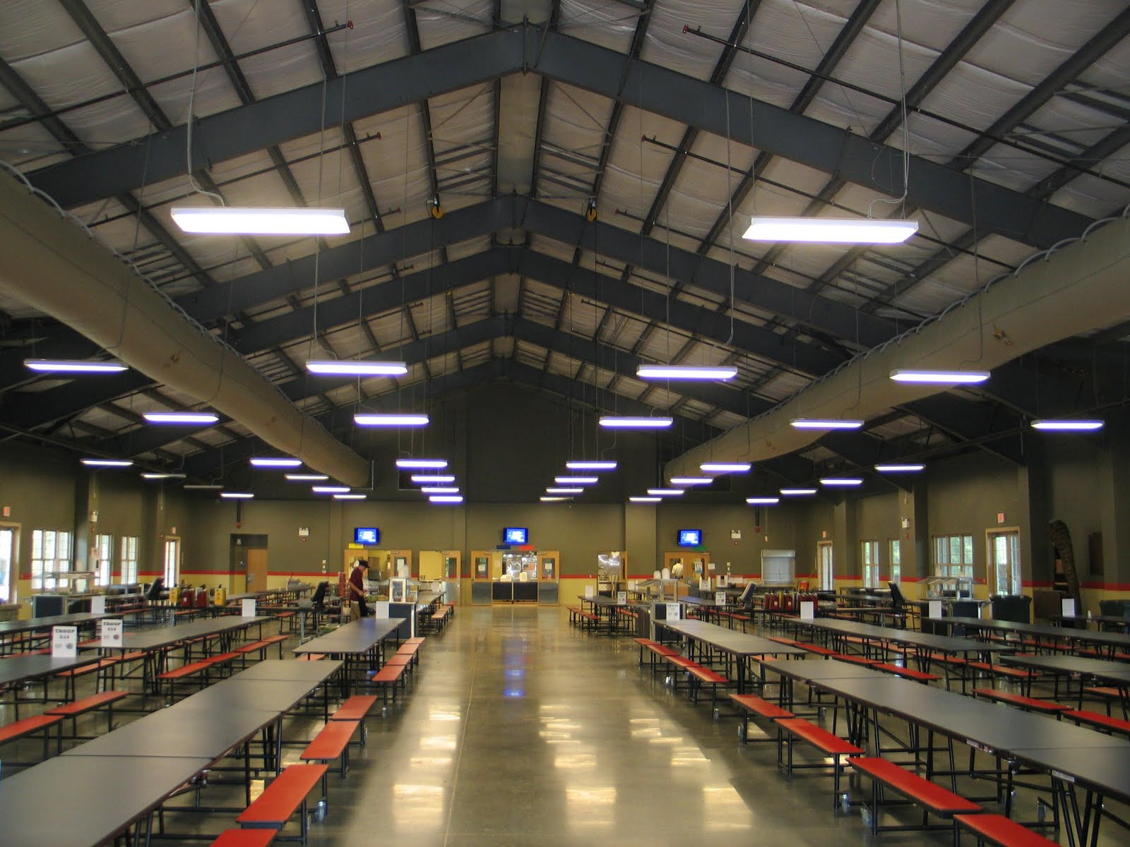 Inside the Grand Lodge dining hall & Troop 451 at Camp Durant 2011