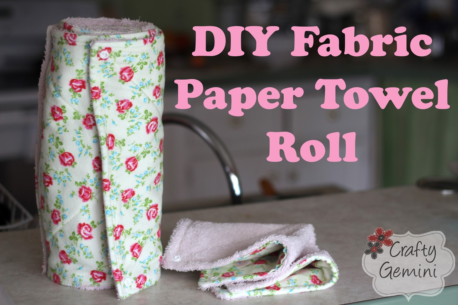 DIY Paper Towel Roll Fabric