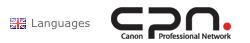 Fotos Carpio publicado en la pagina Internacional de Canon Europa.