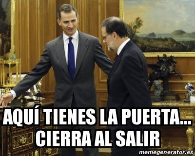 Memes Rajoy declina ser Presidente