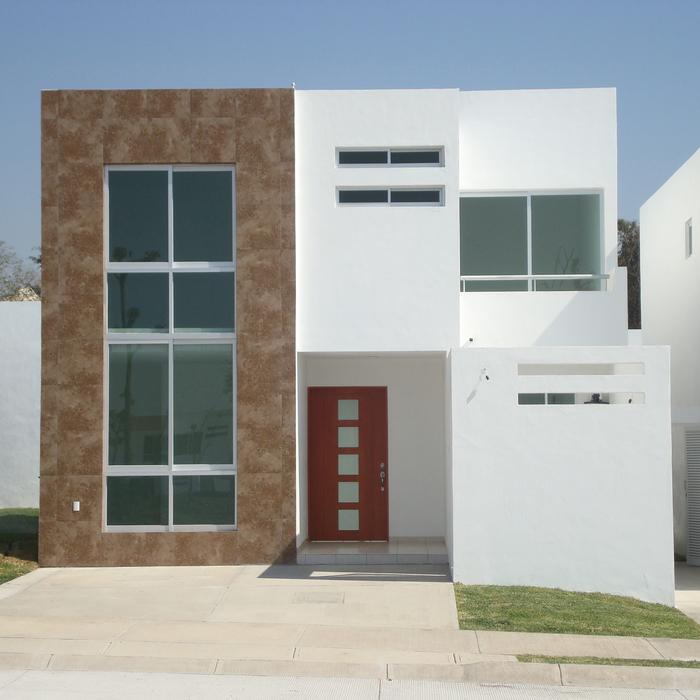 Fachadas minimalistas fachadas minimalistas modelo b4 for Piedras para fachadas minimalistas