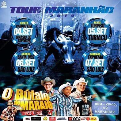 Turnê do Bufalo do Marajó no MA