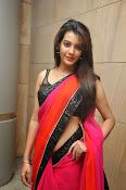 Deeksha panth sizzling saree stills-thumbnail-1