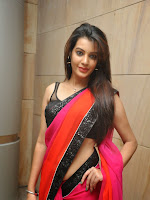 Deeksha Panth Glamorous saree Photo shoot-cover-photo