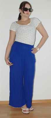 Outfit Palazzo Pants