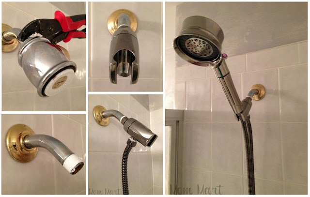 Installing the T3 Source Shower Filter Hand Held Shower Head