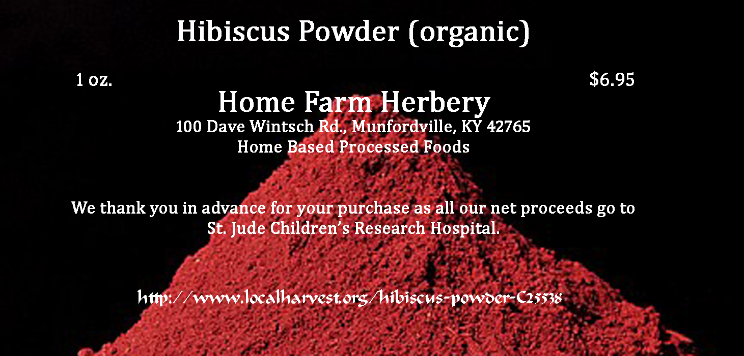 Hibiscus powder and 5 good reasons to use it home farm herbery hibiscus powder and 5 good reasons to use it izmirmasajfo