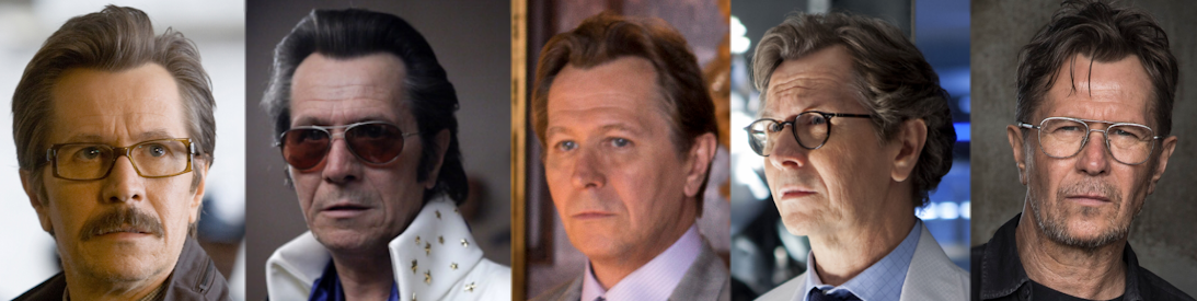 Gary Oldman's last 5 faces