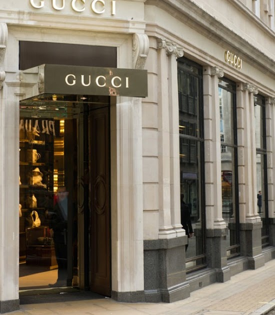 Smartologie Gucci Store Reopens On Bond Street London