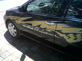 Branding mobil bali