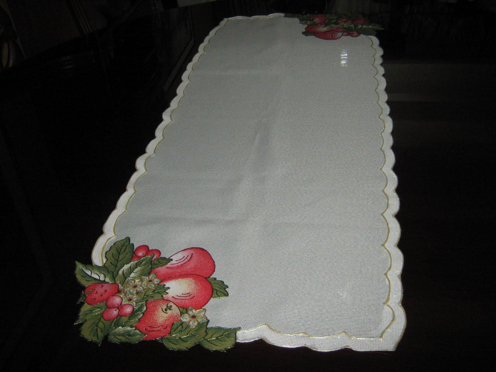 Individuales y caminos de mesa para navidad y uso diario.