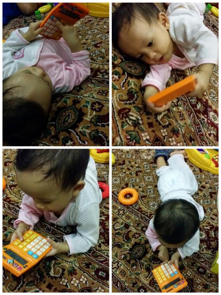 Amina Nawwarah 11 bulan (9 Sept 2014)