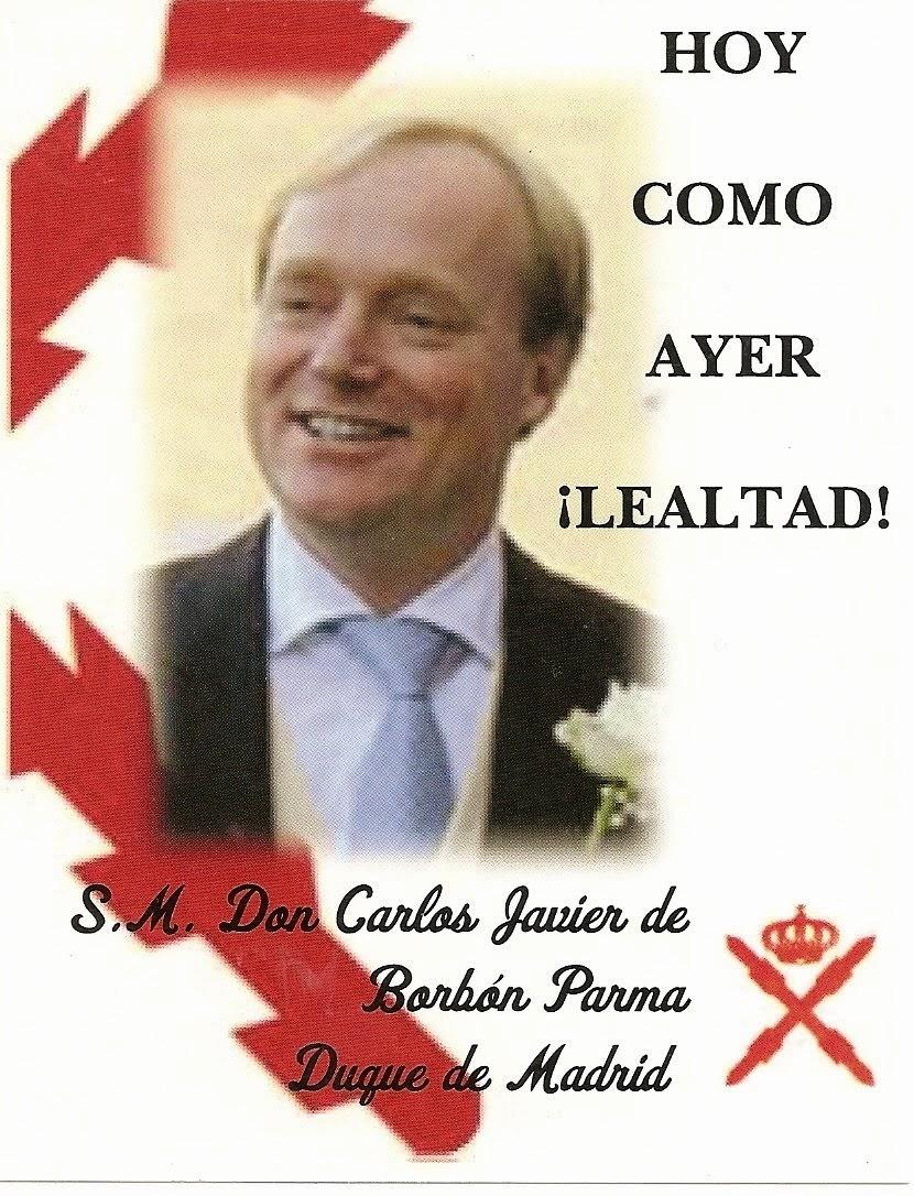 S.M. don Carlos Javier I de Borbón Parma