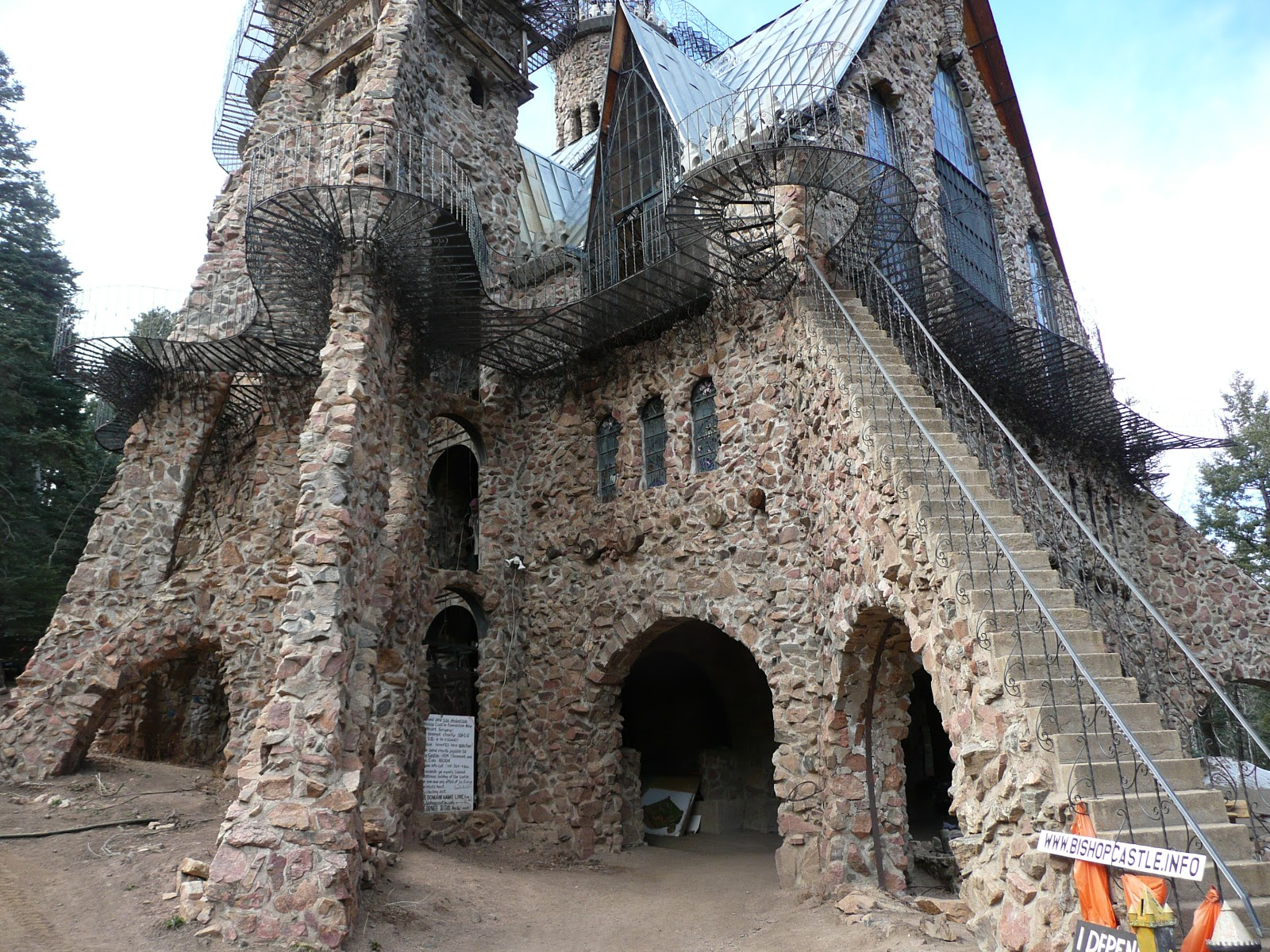 Замки построенные своими руками фото