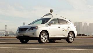 Mobil Google, Mobil tanpa Kemudi