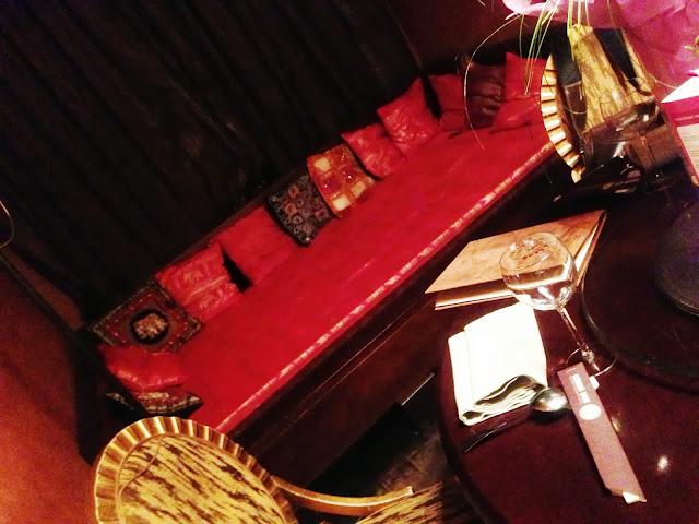 комната в ресторане