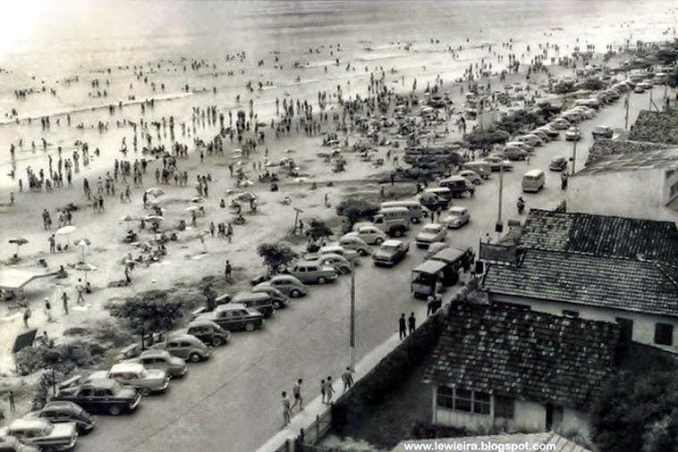 Praia Central década de 70