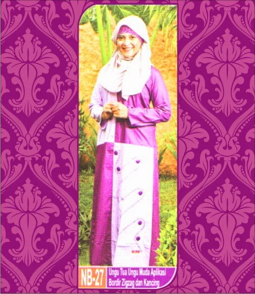 Gamis Muslim Terbaru