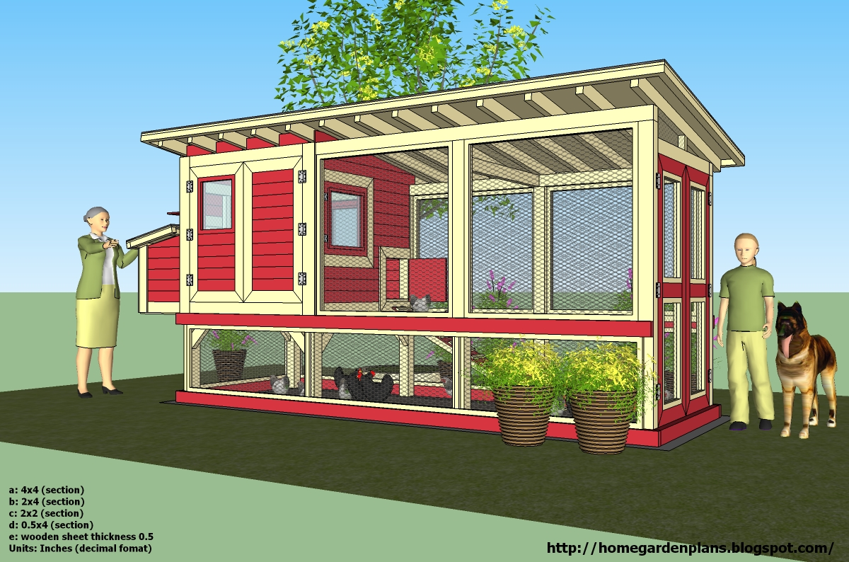 Home garden plans chicken coops for Plans chicken coop