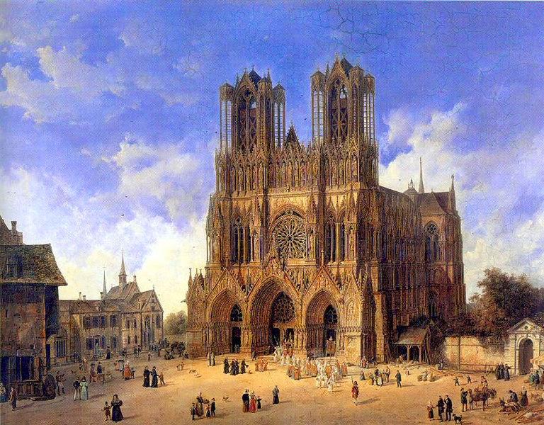 Cathedrale de Reims Guerre 14 18 de la Grande Guerre 14-18