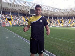 O meia Marquinho é o novo reforço da Udinese (Foto: Divulgação/Udinese)