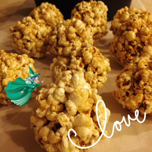 Making popcorn balls without a recipe or corn syrup.  Perfect for tv time!