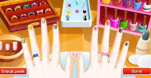 JUEGOS DE PINTAR UÑAS Gratis Pais de los Juegos - Juegos De Peinar Maquillar Y Pintar Uñas
