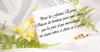 texte pour une carte de mariage - Texte Felicitations Mariage