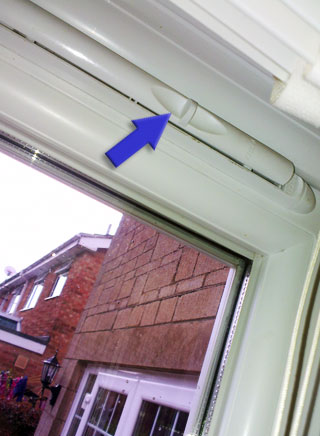 Adding trickle vents to windows