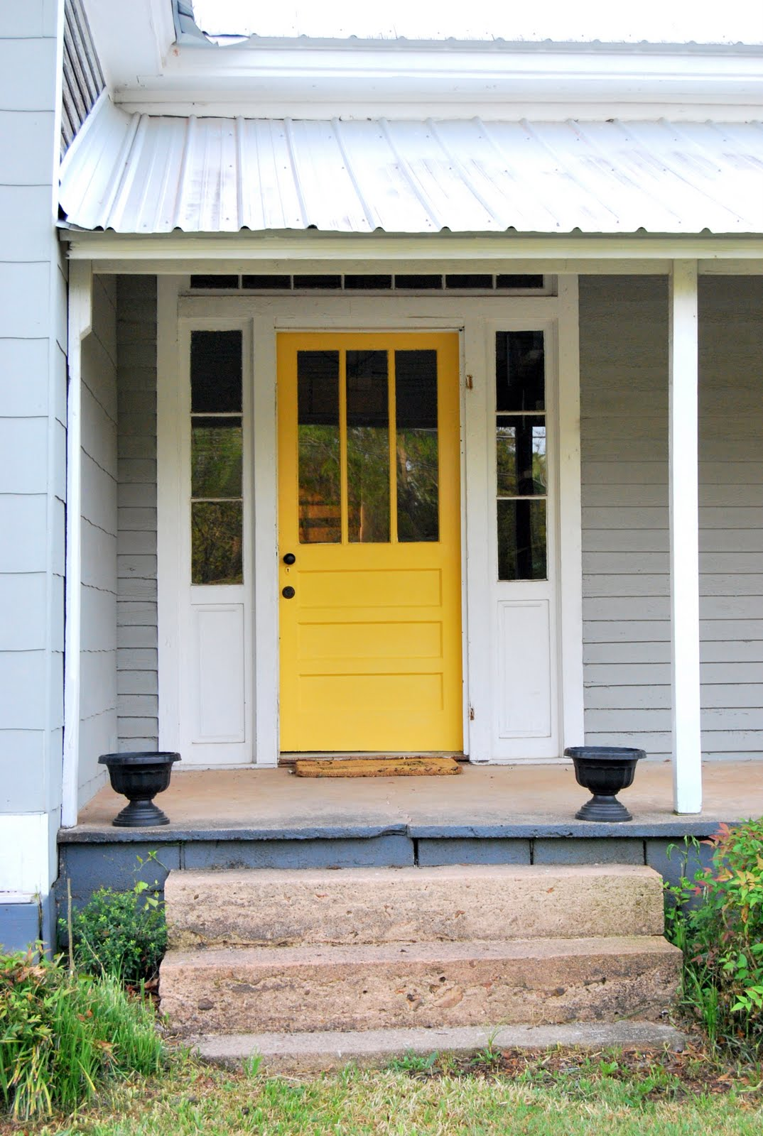 The Feminist Housewife Curb Appeal Front Door Makeover: curb appeal doors