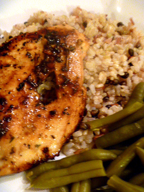 Slice of Southern: Greek Lemon Chicken and Rice
