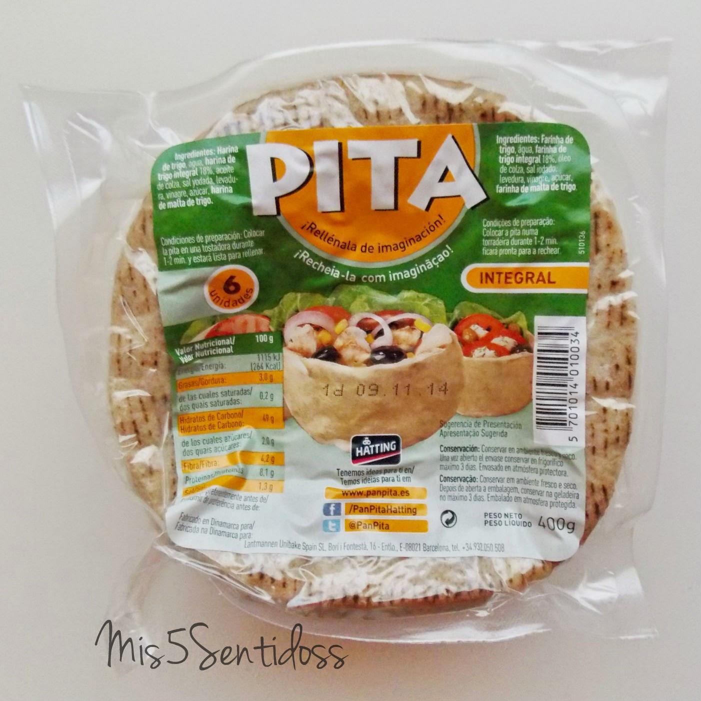 Degustabox Pan pita